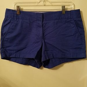 J CREW Chino Broken In Short Shorts